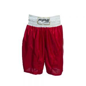 Short para boxeo olímpico varonil Rojo