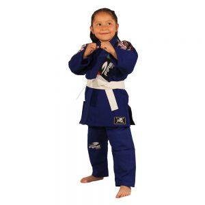 BJJ GI Infantil Azul