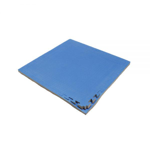 Set 10 piezas Tatami Piso Entrenamiento Judo  Bicolor Azul-Rojo