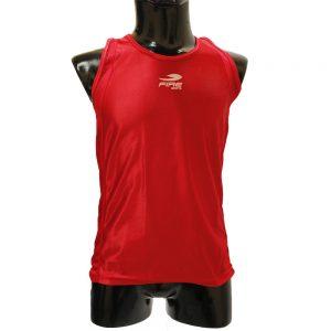 Camiseta para boxeo olímpico Varonil Rojo