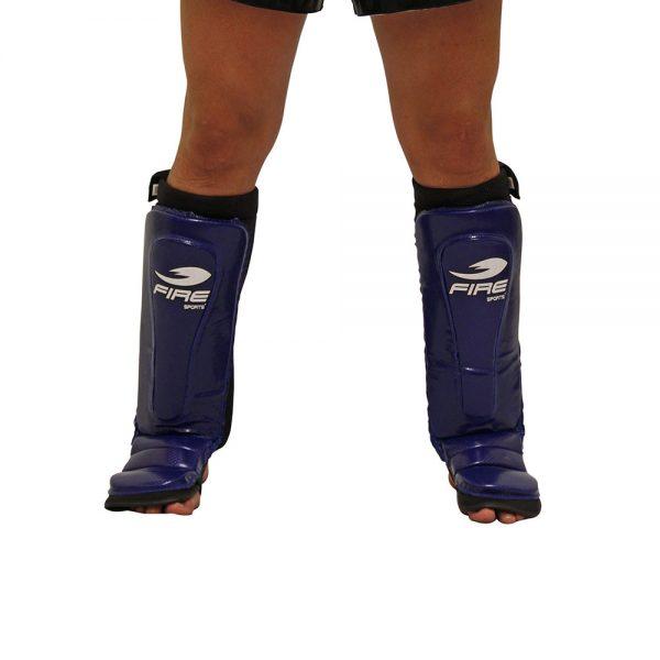 Espinillera Tipo Calceta Azul