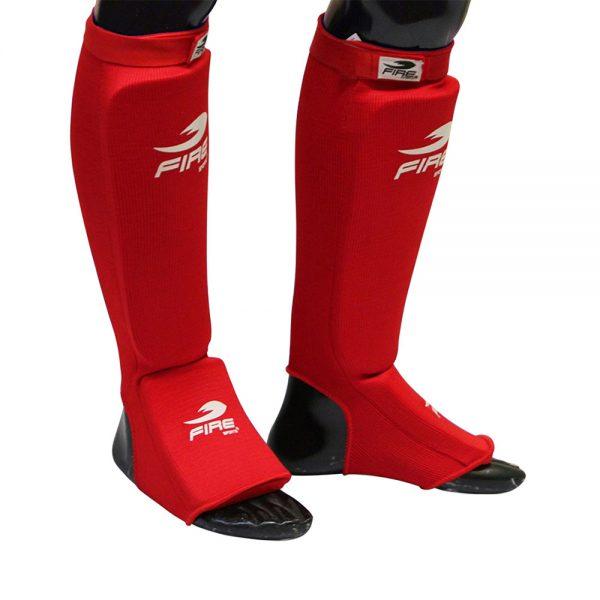 Espinilleras para Muay Thai tipo calceta