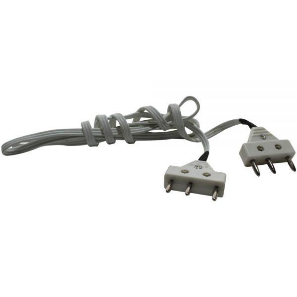Cable o conexión de cuerpo para espada tripolar