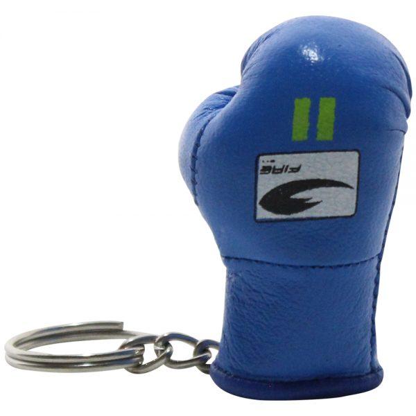 Llavero souvenir guante de box Azul