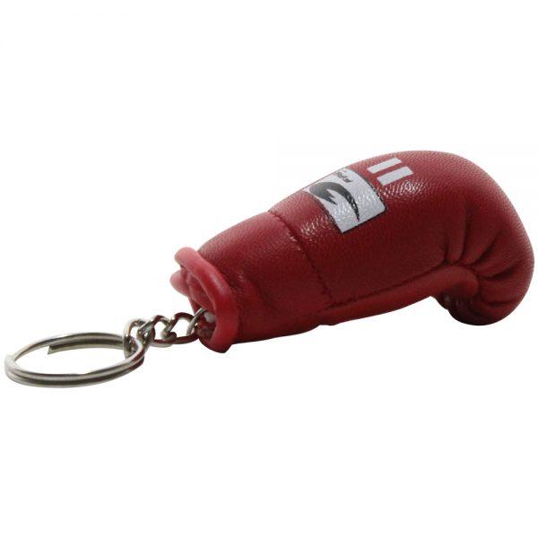 Llavero souvenir guante de box Rojo