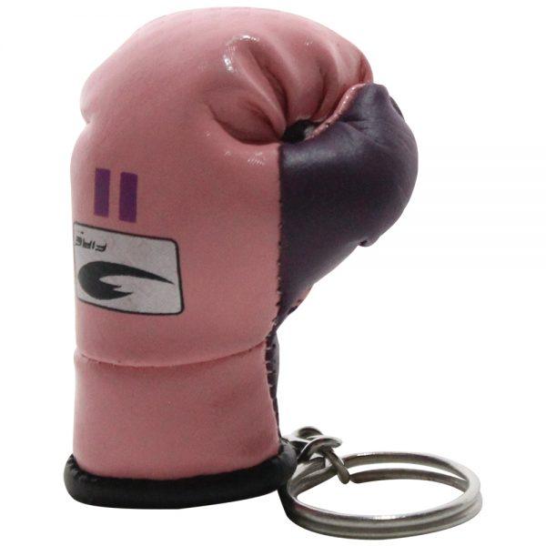 Llavero souvenir guante de box Rosa