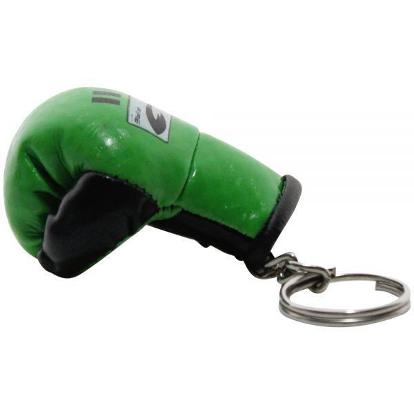 Llavero souvenir guante de box Verde