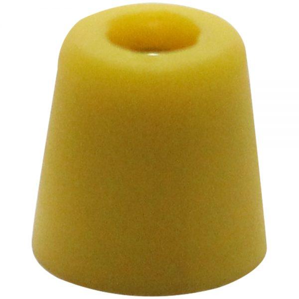 Tuerca o pomo para empuñadora de sable Amarillo