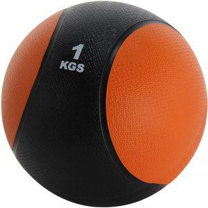 Balón medicinal de PVC 1kg Naranja-Negro