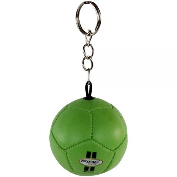 Souvenir llavero de balon de futbol antiestres Verde