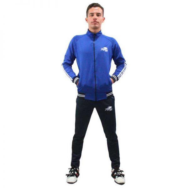 Conjunto Deportivo Fire Sports Pants Varonil Azul Rey/Azul Marino