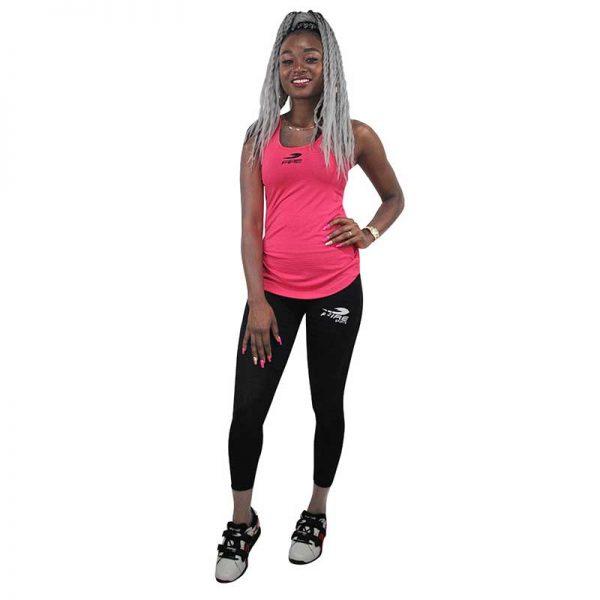 Camiseta o playera deportiva SIN GORRO Fire Sports Femenil Rosa
